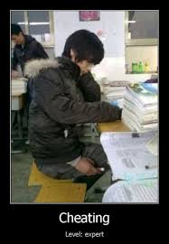 Academic cheating | The Summa via Relatably.com
