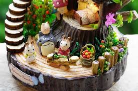 building doll furniture. diy doll house fantasy forest miniature wooden building model dollhouse furniture toys of houses children