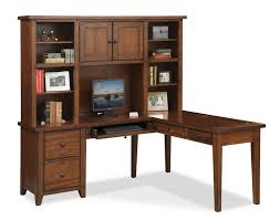 corner desk home office furniture shaped room. home office furniture value city the morgan collection brown series a 48 w x d corner desk with hutch and shaped room h