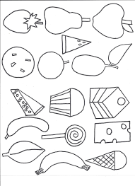 Very Hungry Caterpillar Coloring Page Lovely For Pages Bitsliceme