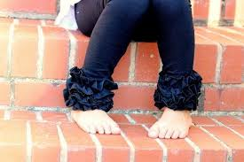 Limited Black Ruffle Leggings Black Knit Ruffle Leggings Comfy Knit Ruffle Pants Size Newborn To 10