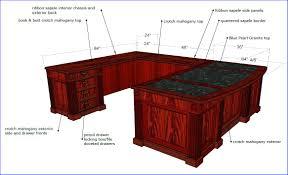 Shaped office desk Computer Desk Ergonomichomecom Ushaped Executive Office Desk