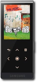 samsung yp t10. samsung - t10 4gb* mp3 and video player black yp
