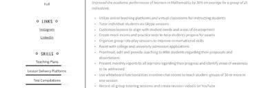 Academic Achievement Resume Tutor Resume Writing Guide 12 Resume Examples 2019