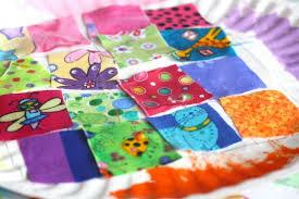 Paper Plate Quilt Craft - Happy Hooligans & Paper Plate Quilt for Preschool Adamdwight.com