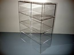 details about acrylic lucite countertop display case showcase box cabinet 12 x 6 x 16