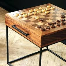 chess coffee table collection in best ideas about on wooden mid century tiled co