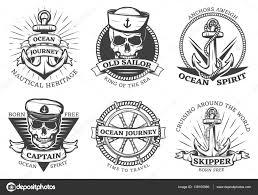 морские татуировки якорь старый набор татуировки якорь векторное