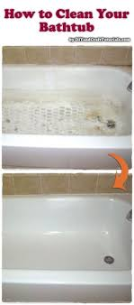 Best Way To Clean Bathroom Tile New How To Clean Your Bathtub Sprinkle 48 Mule Team Borax On A Damp