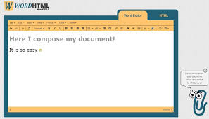 online word document to html converter