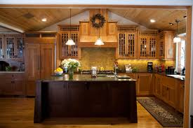 craftsman style kitchen cabinets arts crafts cherry arts and crafts kitchen cabinet doors