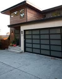 modern garage door commercial. Contemporary Full View Glass Garage Doors :: Aluminum Clear Door - Modern Commercial