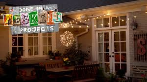 Threshold String Lights Gazebo Light Up Your Life How To Add String Lights To Your Yard Youtube
