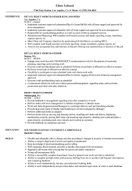 Reset Merchandiser Resume Samples Velvet Jobs