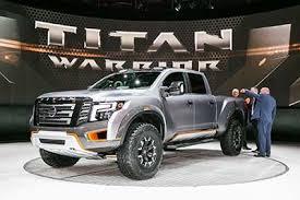 Nissan Unveils Titan Warrior Full-size Pickup Truck Concept ...