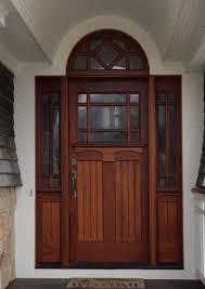 Wood Front Door With Sidelights Enchanting Therma Tru Entry Doors
