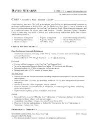 Sample Cook Resume Chef Resume Samples Free Packed With Sample Cook Extraordinary Cook Job Description Resume