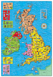 orchard toys great britain  ireland map jigsaw puzzle amazonco