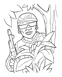 Military Coloring Pages Printable At Getdrawingscom Free For