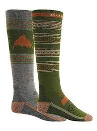 Burton Snowboard Socks Size Chart Burton Performance Lightweight Two Pack Sock