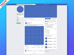 New Facebook Page Mockup 2019 Psd By Psd Freebies On Dribbble