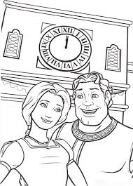 Small Picture Shrek coloring pages and friends ColoringStar