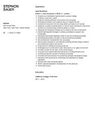 Sample Resume For Java J2ee Developer Lovely Download Manual Test 2