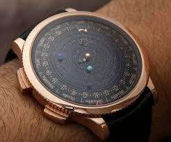 moving planetarium watch