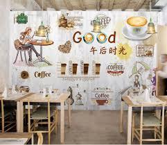 Customized Modern European Retro Wooden Board Nostalgic Coffee