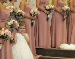 real pics of bridesmaid dress allure style 1221 dusty rose