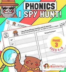 • give the sound when shown any grapheme that has been taught; Phase 5 Phonics Mrs Mactivity