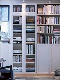 office bookcase with doors. white ikea billy bookcase with doors my final bookcasehome office e