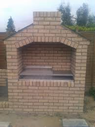 diy outdoor brick fireplace awesome great 20 nice diy backyard brick barbecue ideas