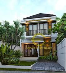desain rumah minimalis modern 2 lantai mini house pinterest
