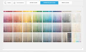 Sherwin Williams Color Chart Color Chart Of Options For Stone And Tile Surfaces