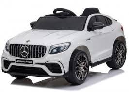 Детский <b>электромобиль Mercedes</b>-<b>Benz GLC</b> 63 AMG White 12V ...