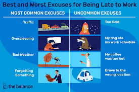 Best Illness To Fake To Get A Doctors Note Best And Worst Excuses For Being Late To Work