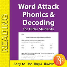 Includes differentiated support and independent sheets. Word Attack Phonics Decoding For Older Students By Remedia Tpt