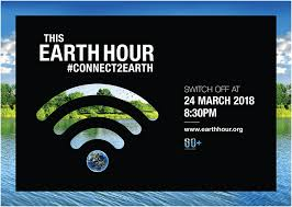 Turn Off That Light Turn Off Your Lights Earth Hour 2018 Is Coming Up