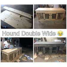 Dog Crate Furniture Bench Stunning Dog Crate Furniture