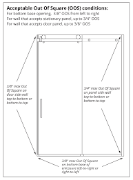 Glasscrafters Medicine Cabinets Glasscrafters At 38 Acero Series Frameless Sliding Tub Doors With