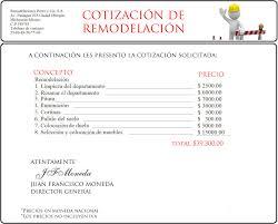 Formato Para Cotizacion De Servicios Formato De Cotizacion De Servicio Rome Fontanacountryinn Com