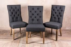 grey upholstered dining chairs. pewter grey button back dining chair upholstered chairs u