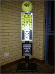 Tennis Ball Vending Machine Inspiration Table Football Hire TENNIS BALLS
