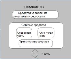 Сетевые операционные системы функциональные компоненты и варианты  Функциональные компоненты сетевой ОС