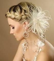 Image Coiffure Pour Mariage Avec Tresse Coiffure Cheveux Mi