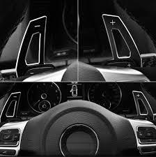 1 Pair Steering Wheel Aluminum Shift Paddles <b>Car styling For</b> ...