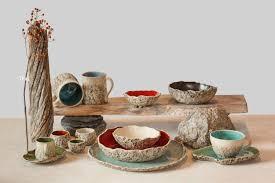 handmade stoneware dinner sets uk. special offer of 10 person handmade organic dinnerware setting, large ceramic dinner set ,stoneware wedding gift: amazon.co.uk: stoneware sets uk