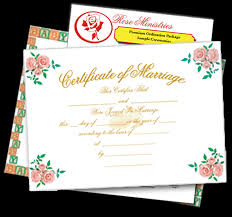 Become Ordained Wedding Ceremonies And Certificates Downloadable Rose Ministries