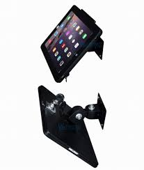 fit for ipad 2 3 4 air pro wall mount metal case for ipad stand display
